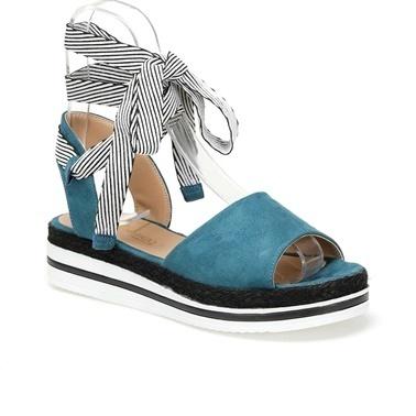 Butigo Sandalet Yeşil